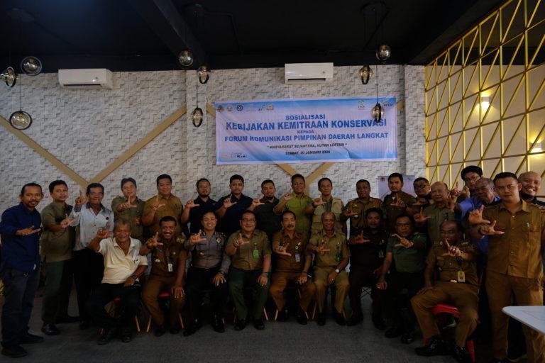 Kolaborasi Multi-Pihak Kemitraan Konservasi Kabupaten Langkat.